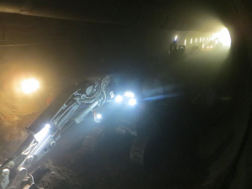 Напредване на подземното строителство